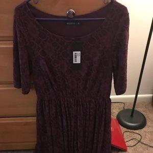 Mikarose Medium burgundy dress